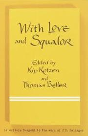 Cover art for WITH LOVE AND SQUALOR