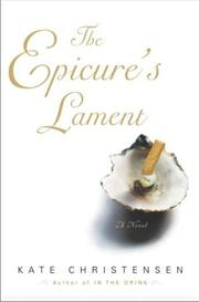 Cover art for THE EPICURE'S LAMENT