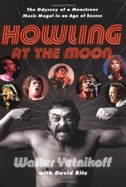 Cover art for HOWLING AT THE MOON