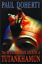 Cover art for THE MYSTERIOUS DEATH OF TUTANKHAMUN