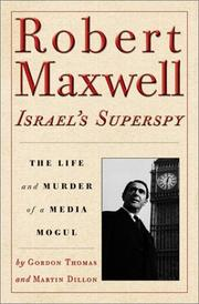 Cover art for ROBERT MAXWELL, ISRAEL'S SUPERSPY