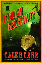 Book Cover for THE ITALIAN SECRETARY