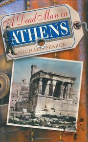 Cover art for A DEAD MAN IN ATHENS
