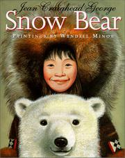 Cover art for SNOW BEAR