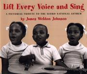 Book Cover for LIFT EVERY VOICE AND SING