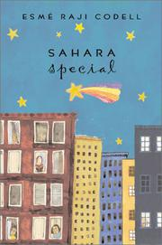 Cover art for SAHARA SPECIAL