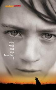 Cover art for WHO WILL TELL MY BROTHER?