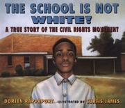 Cover art for THE SCHOOL IS NOT WHITE!