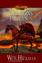 Book Cover for DRAGONS OF A FALLEN SUN