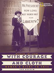 Book Cover for WITH COURAGE AND CLOTH