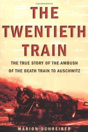 Cover art for THE TWENTIETH TRAIN