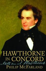 Cover art for HAWTHORNE IN CONCORD