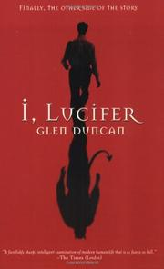 Cover art for I, LUCIFER