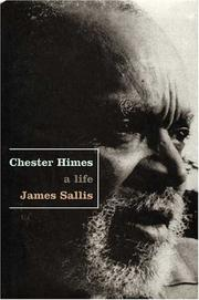 Cover art for CHESTER HIMES