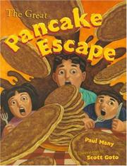 Book Cover for THE GREAT PANCAKE ESCAPE