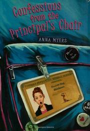 Cover art for CONFESSIONS FROM THE PRINCIPAL'S CHAIR