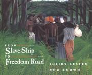 Cover art for FROM SLAVE SHIP TO FREEDOM ROAD