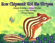 Book Cover for HOW CHIPMUNK GOT HIS STRIPES