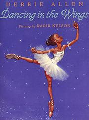 Cover art for DANCING IN THE WINGS