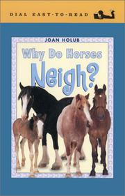 Cover art for WHY DO HORSES NEIGH?