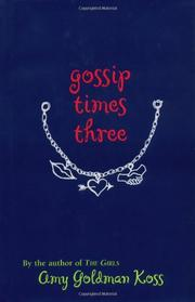 Cover art for GOSSIP TIMES THREE
