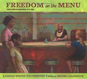 Cover art for FREEDOM ON THE MENU