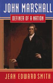 Book Cover for JOHN MARSHALL