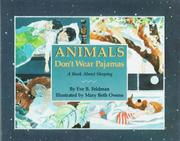 Cover art for ANIMALS DON'T WEAR PAJAMAS