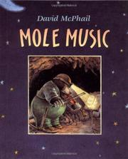 Book Cover for MOLE MUSIC