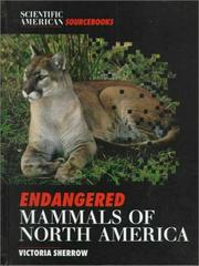 Cover art for ENDANGERED MAMMALS OF NORTH AMERICA