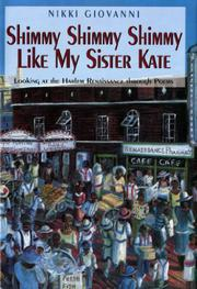 Book Cover for SHIMMY SHIMMY SHIMMY LIKE MY SISTER KATE