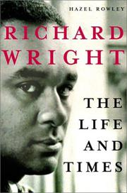 Cover art for RICHARD WRIGHT