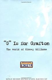 Cover art for ``G'' IS FOR GRAFTON