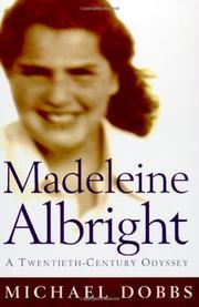 Book Cover for MADELEINE ALBRIGHT