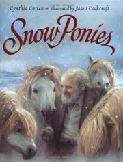 Cover art for SNOW PONIES