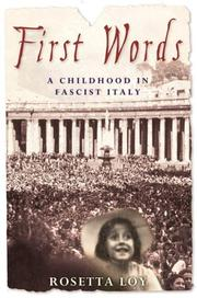 Cover art for FIRST WORD