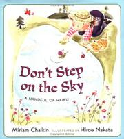 Cover art for DON'T STEP ON THE SKY