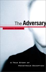 Cover art for THE ADVERSARY