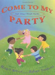 Book Cover for COME TO MY PARTY