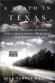 Cover art for A DEATH IN TEXAS