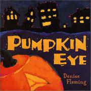 Book Cover for PUMPKIN EYE