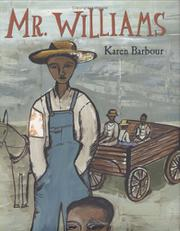 Cover art for MR. WILLIAMS