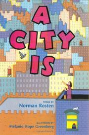 Cover art for A CITY IS