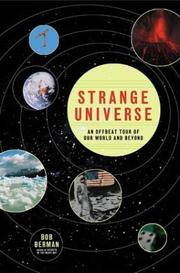 Cover art for STRANGE UNIVERSE