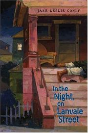 Cover art for IN THE NIGHT, ON LANVALE STREET