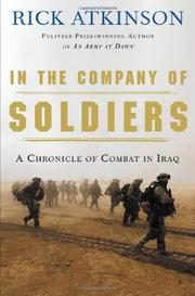 Cover art for IN THE COMPANY OF SOLDIERS