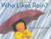 Cover art for WHO LIKES RAIN?
