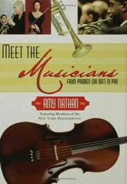 Cover art for MEET THE MUSICIANS