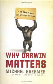 Book Cover for WHY DARWIN MATTERS