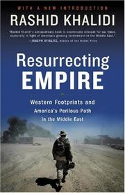 Cover art for RESURRECTING EMPIRE